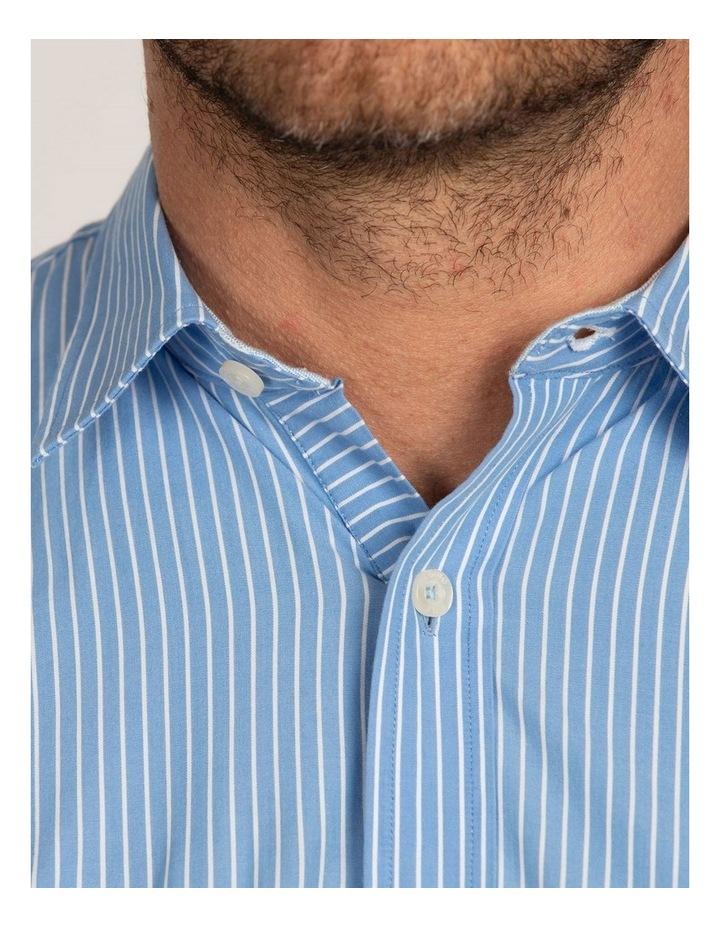 Pinstripe Poplin Long Sleeve Shirt image 5