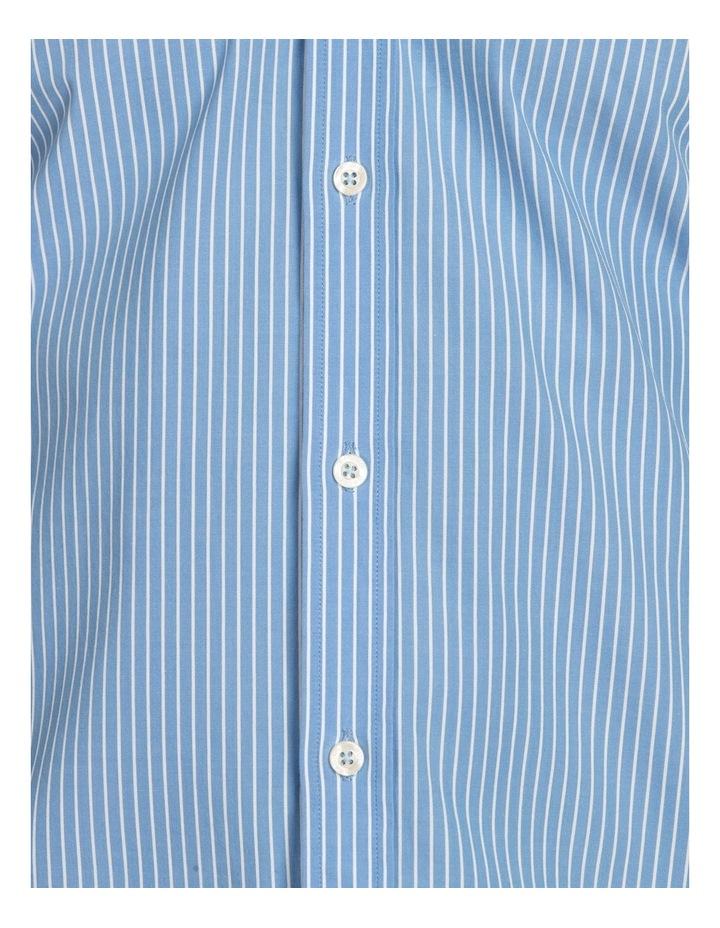 Pinstripe Poplin Long Sleeve Shirt image 6