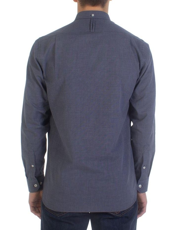 Geometric Dobby Long Sleeve Shirt image 2