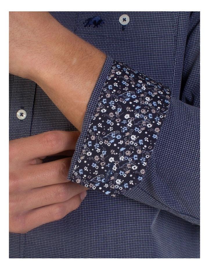 Geometric Dobby Long Sleeve Shirt image 7