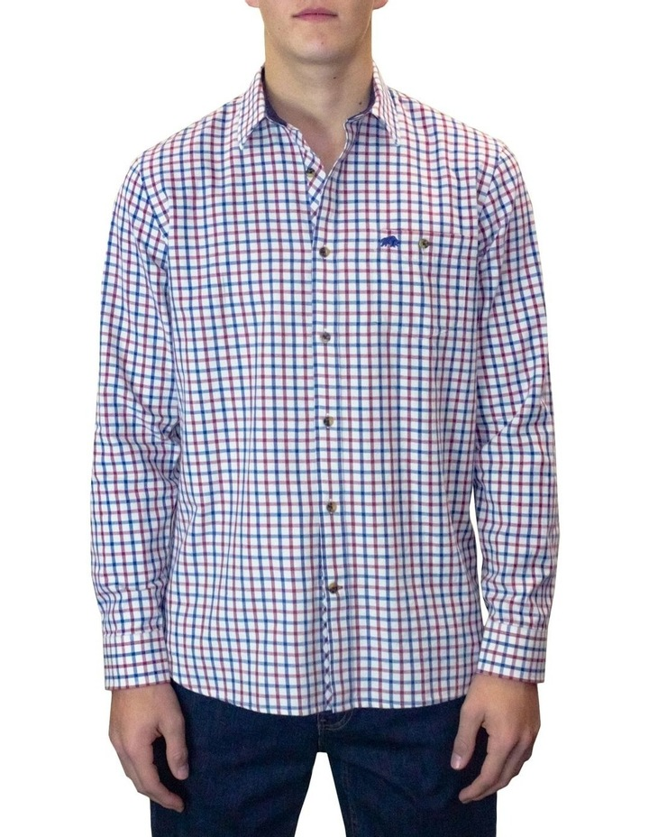 Twill Check Long Sleeve Shirt image 1