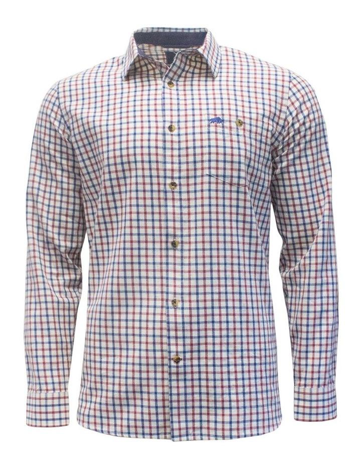 Twill Check Long Sleeve Shirt image 3