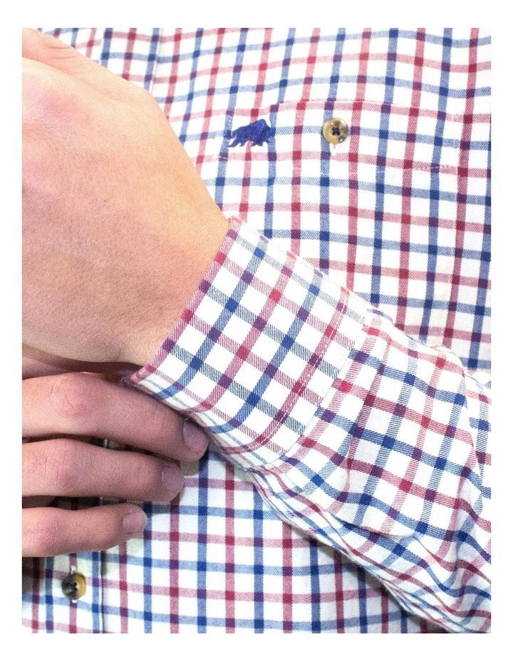 Twill Check Long Sleeve Shirt image 5