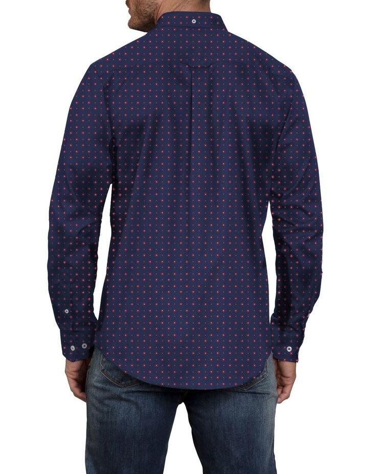 Printed Poplin Long Sleeve Shirt image 2