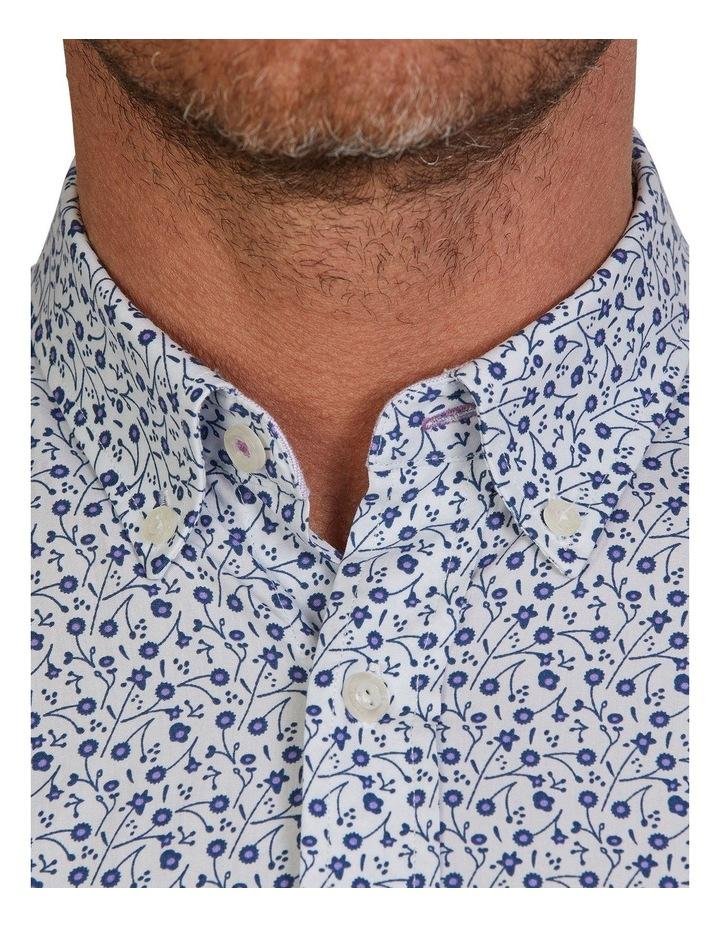 Dhalia Floral Printed Poplin Long Sleeve Shirt image 4