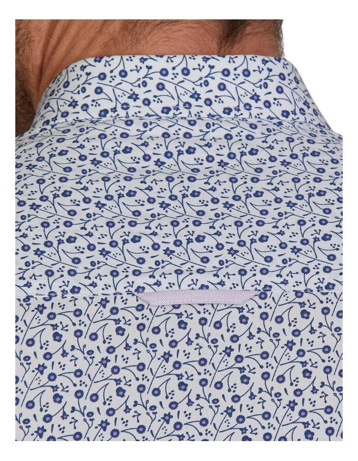 Dhalia Floral Printed Poplin Long Sleeve Shirt image 5