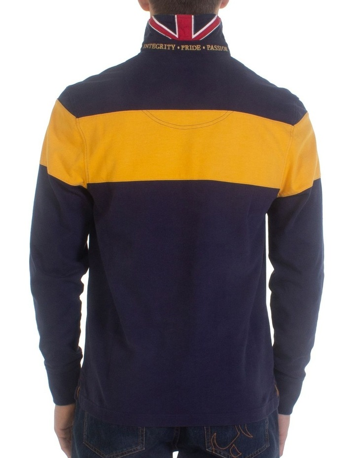 Long Sleeve Hooped Rugby image 2