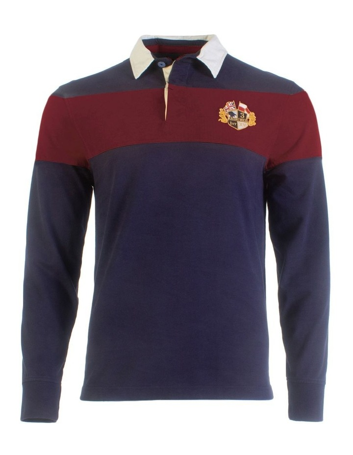 Long Sleeve Hooped Rugby image 3