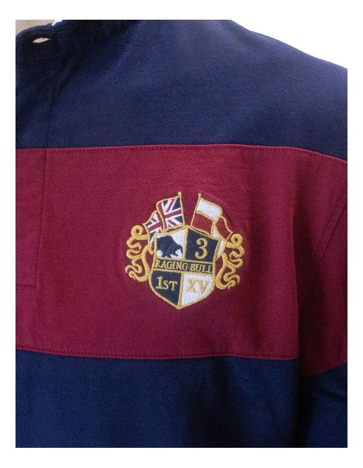 Long Sleeve Hooped Rugby image 4