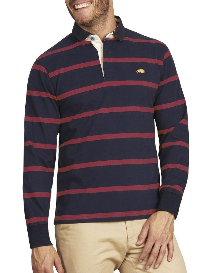 Long Sleeve Stripe Rugby image 1
