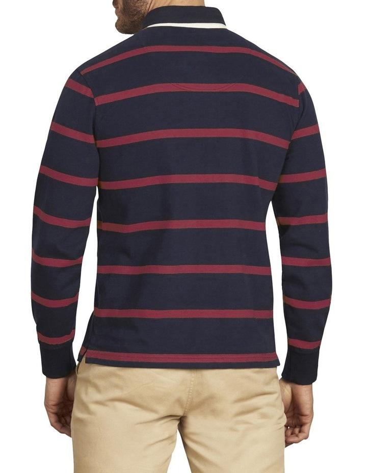 Long Sleeve Stripe Rugby image 2