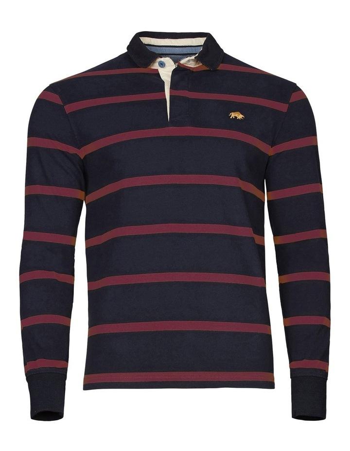 Long Sleeve Stripe Rugby image 3