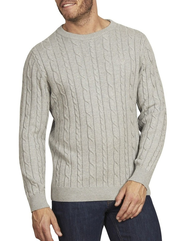 Signature Cable Crew Neck Knit image 1