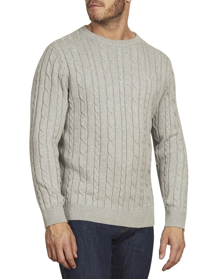 Signature Cable Crew Neck Knit image 2