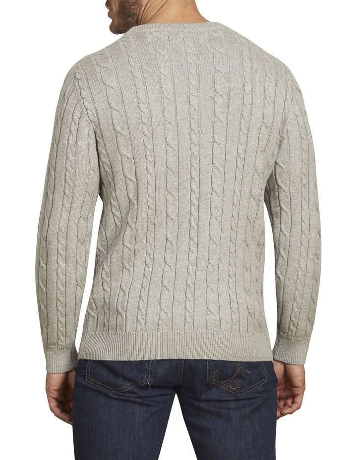 Signature Cable Crew Neck Knit image 3
