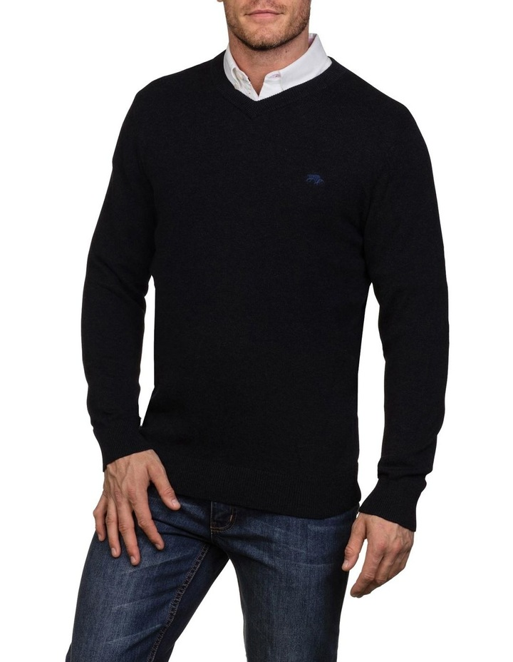 Signature V Neck Knit image 1