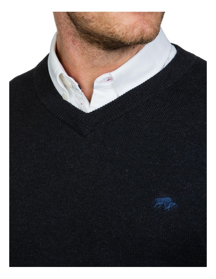 Signature V Neck Knit image 3