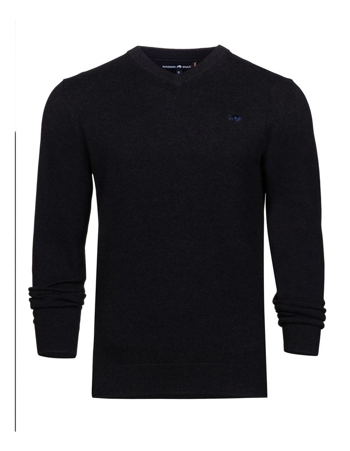 Signature V Neck Knit image 4