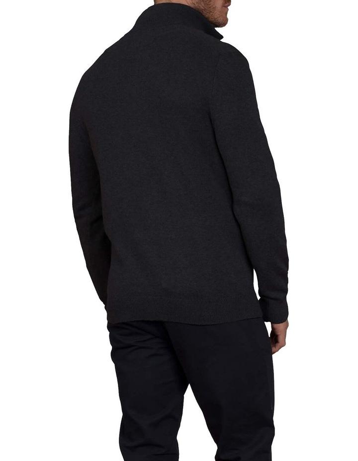 Cotton Cashmere Quarter Zip Knit image 2