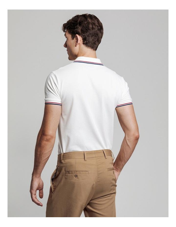 Tipping Pique Short Sleeve Rugger Polo image 2