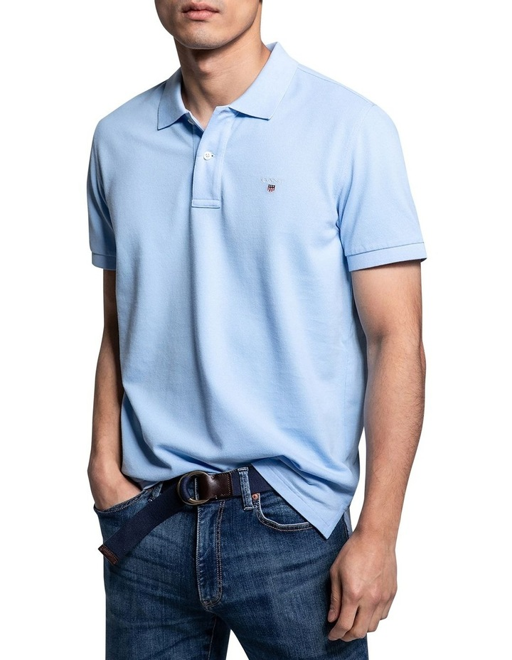 Solid Pique Rugger Polo image 1