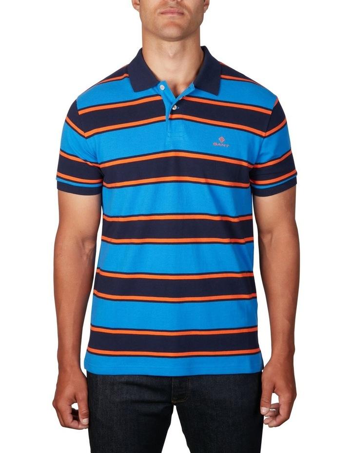 Bold Stripe Pique Polo image 1