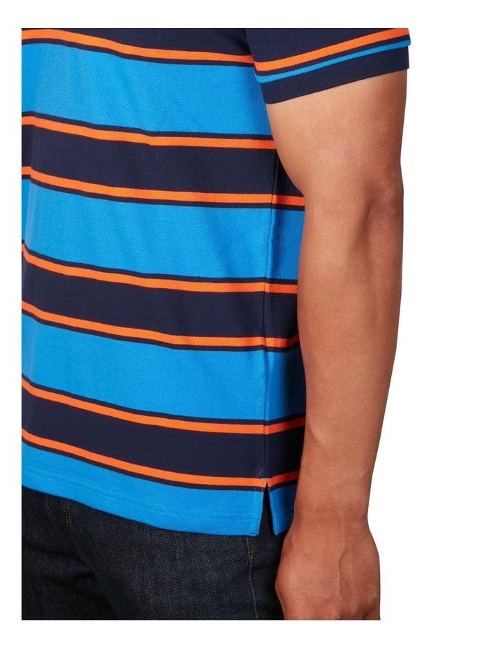 Bold Stripe Pique Polo image 4