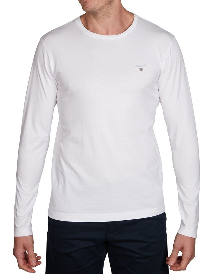 Solid Long Sleeve T-Shirt image 1