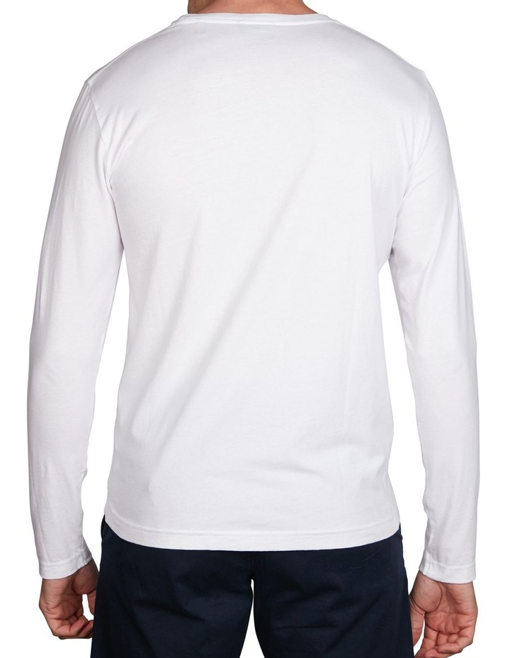 Solid Long Sleeve T-Shirt image 2