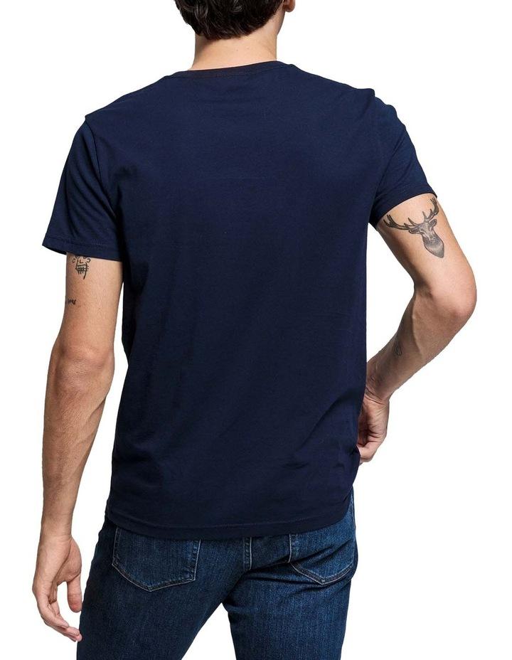 Shield Short Sleeve T-Shirt  Blue image 2