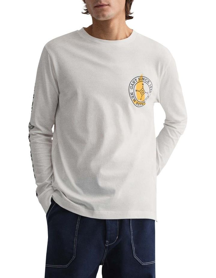 Natutical Long Sleeve T-Shirt image 1
