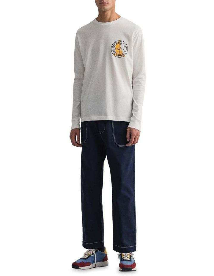 Natutical Long Sleeve T-Shirt image 3