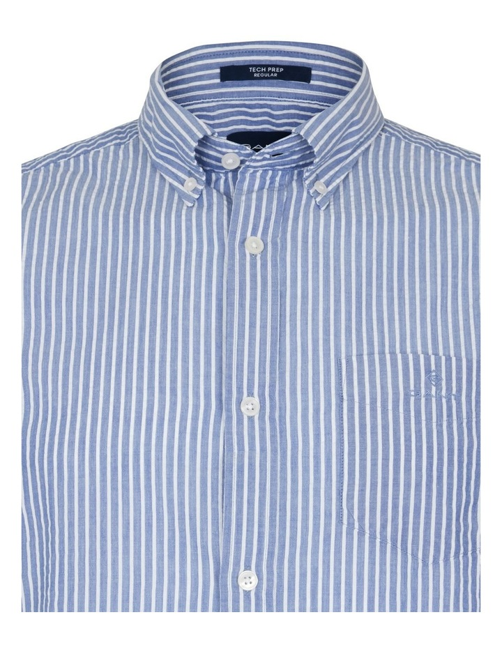 Seersucker Stripe Short Sleeve Shirt image 3
