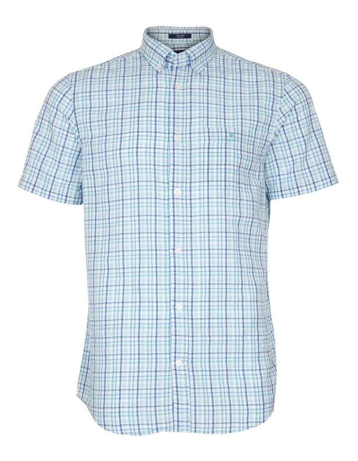 Seersucker Check Short Sleeve Shirt image 1