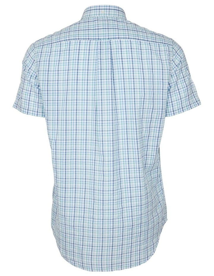 Seersucker Check Short Sleeve Shirt image 2