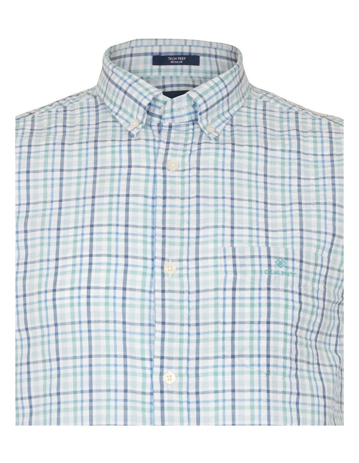 Seersucker Check Short Sleeve Shirt image 3