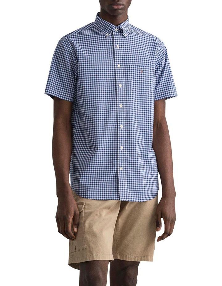 Regular Broadcloth Gingham Short Sleeve Shirt image 1