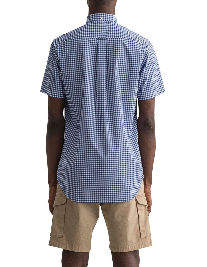 Regular Broadcloth Gingham Short Sleeve Shirt image 2