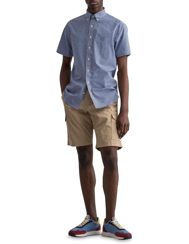 Regular Broadcloth Gingham Short Sleeve Shirt image 3