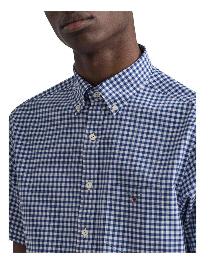Regular Broadcloth Gingham Short Sleeve Shirt image 4