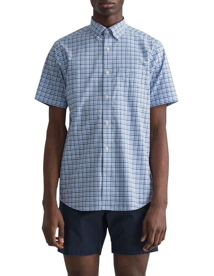 Gingham 3 Colour Short Sleeve Broadcloth Shirt image 1