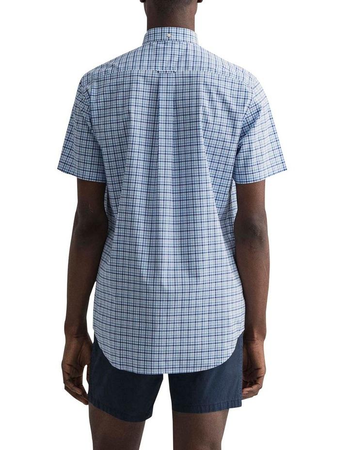 Gingham 3 Colour Short Sleeve Broadcloth Shirt image 2