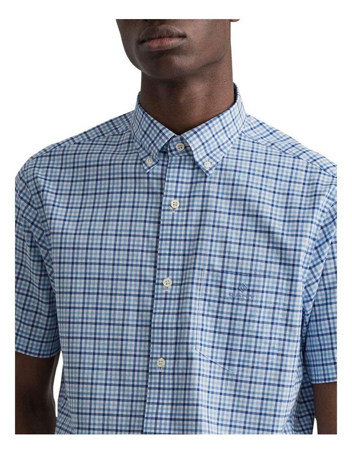Gingham 3 Colour Short Sleeve Broadcloth Shirt image 3
