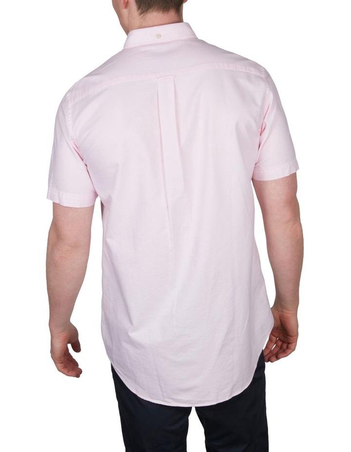 The Oxford Regular Short Sleeve Shirt Light Pink image 2