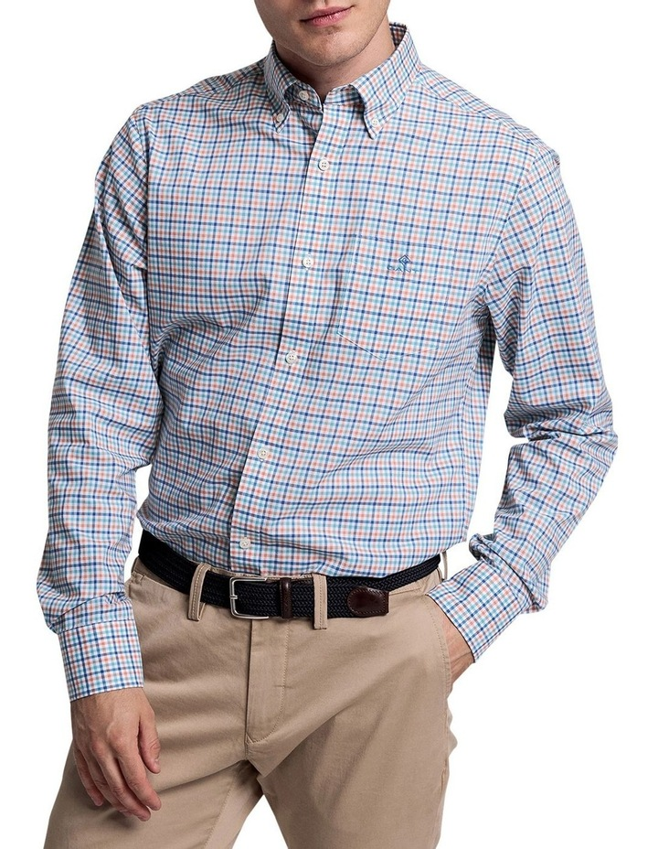 The 3 Colour Gingham Long Sleeve Shirt image 1