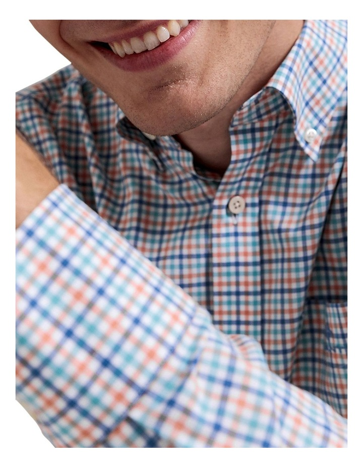 The 3 Colour Gingham Long Sleeve Shirt image 3