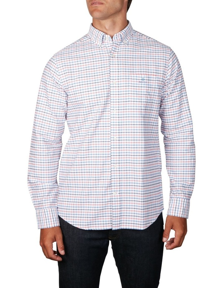 The Beefy Oxford Check Regular Long Sleeve Shirt image 1