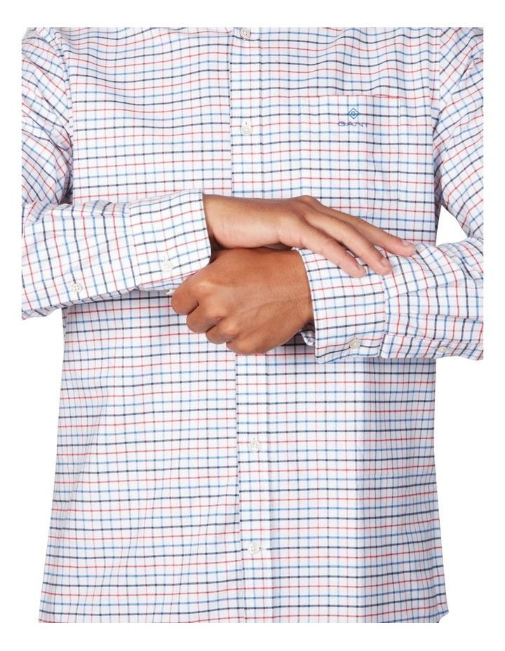 The Beefy Oxford Check Regular Long Sleeve Shirt image 4