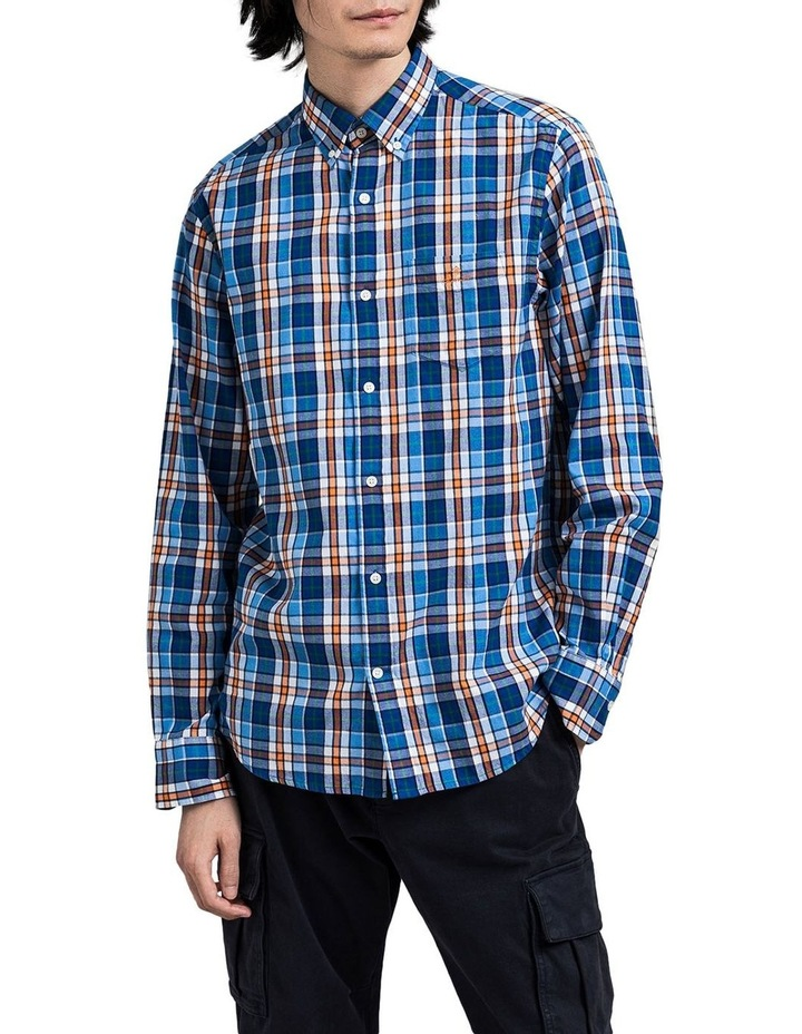 Windblown Oxford Check Long Sleeve Shirt image 1