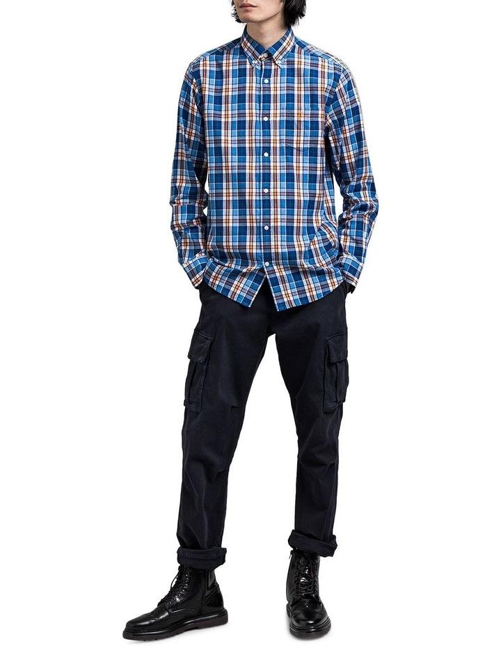 Windblown Oxford Check Long Sleeve Shirt image 3